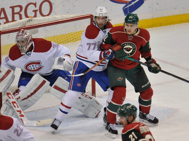 Minnesota Wild vs. Montreal Canadiens - 12/22/15 NHL Pick, Odds, and Prediction