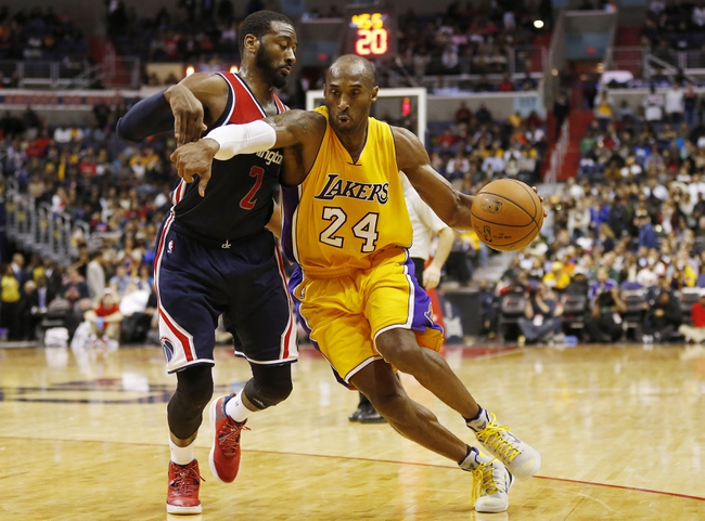 Lakers at Wizards - 12/2/15 NBA Pick, Odds, and Prediction