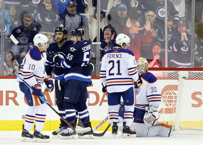 Jets vs. Oilers - 2/16/15 NHL Pick, Odds, and Prediction