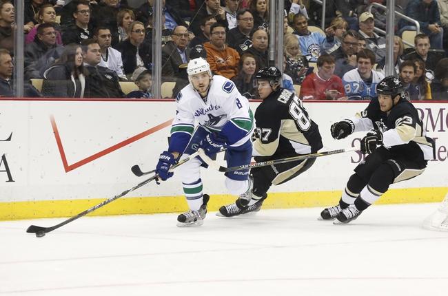 Canucks vs. Penguins - 2/7/15 NHL Pick, Odds, and Prediction