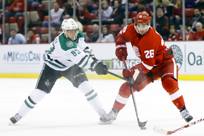 Stars vs. Red Wings - 2/21/15 NHL Pick, Odds, and Prediction