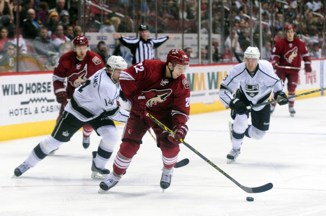 Kings vs. Coyotes - 12/20/14 NHL Pick, Odds, and Prediction