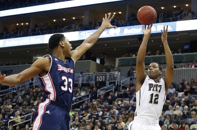 Pittsburgh Panthers vs. Duquesne Dukes - 12/4/15 College Basketball Pick, Odds, and Prediction