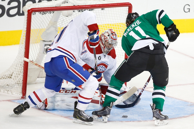 Canadiens vs. Stars - 1/27/15 NHL Pick, Odds, and Prediction