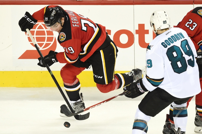 Sharks vs. Flames - 1/17/15 NHL Pick, Odds, and Prediction