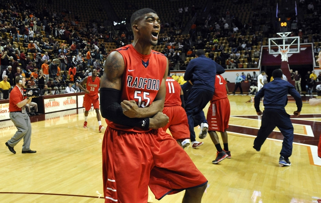 Big South Quarterfinal-Radford Highlanders vs. Winthrop Eagles - 3/6/15 College Basketball Pick, Odds, and Prediction