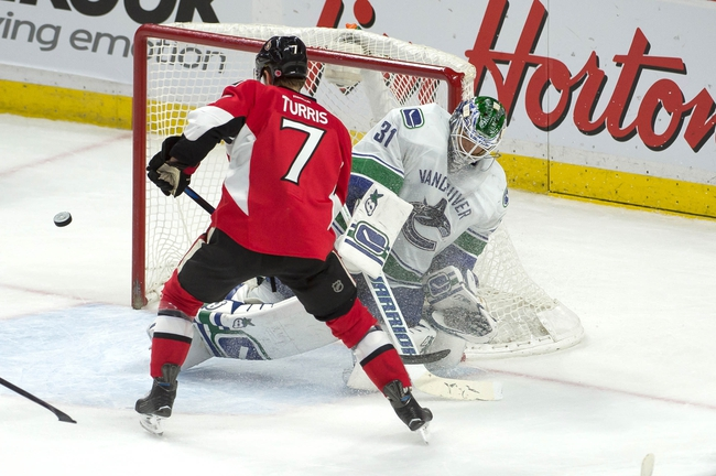 Ottawa Senators vs. Vancouver Canucks - 11/12/15 NHL Pick, Odds, and Prediction