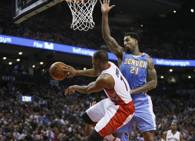 Denver Nuggets vs. Toronto Raptors - 12/28/14 NBA Pick, Odds, and Prediction