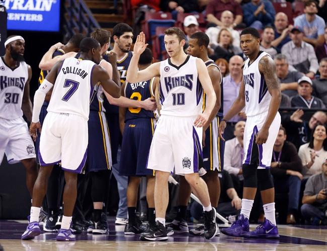Jazz vs. Kings - 2/7/15 NBA Pick, Odds, and Prediction
