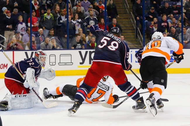 Flyers vs. Blue Jackets - 2/17/15 NHL Pick, Odds, and Prediction