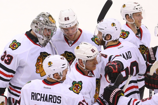 Chicago Blackhawks vs. New Jersey Devils - 2/13/15 NHL Pick, Odds, and Prediction