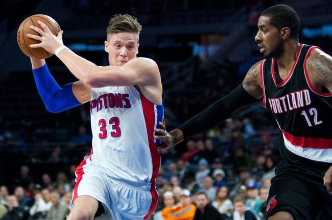 Trail Blazers vs. Pistons - 3/13/15 NBA Pick, Odds, and Prediction