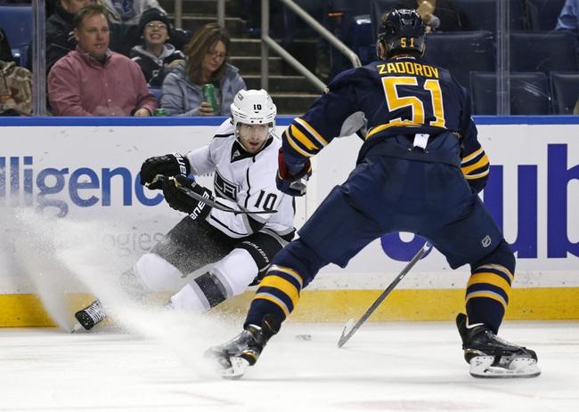 Buffalo Sabres vs. Los Angeles Kings - 12/12/15 NHL Pick, Odds, and Prediction