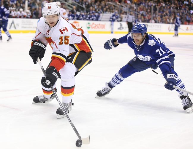 Calgary Flames vs. Toronto Maple Leafs - 3/13/15 NHL Pick, Odds, and Prediction