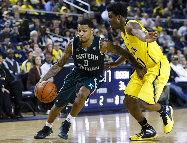 Eastern Michigan Eagles vs. Toledo Rockets - 3/6/15 College Basketball Pick, Odds, and Prediction