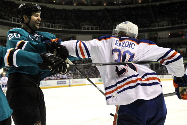 San Jose Sharks vs. Edmonton Oilers - 12/18/14 NHL Pick, Odds, and Prediction