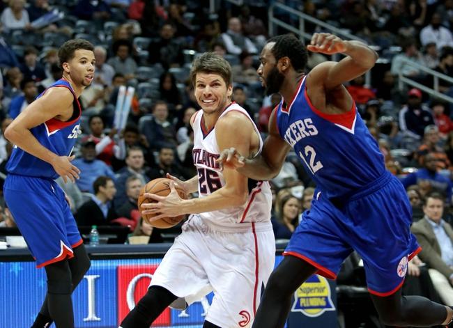 76ers vs. Hawks - 1/13/15 NBA Pick, Odds, and Prediction