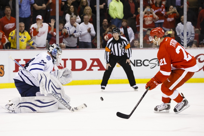 Toronto Maple Leafs vs. Detroit Red Wings - 12/13/14 NHL Pick, Odds, and Prediction