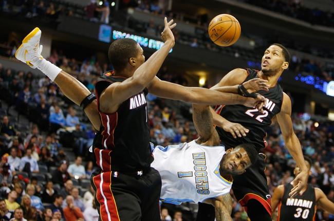 Heat vs. Nuggets - 3/20/15 NBA Pick, Odds, and Prediction