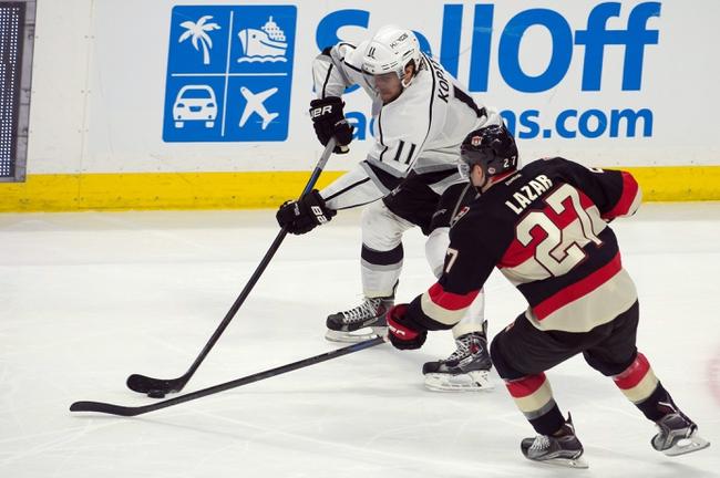 Los Angeles Kings vs. Ottawa Senators - 2/26/15 NHL Pick, Odds, and Prediction