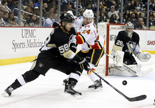 Calgary Flames vs. Pittsburgh Penguins - 2/6/15 NHL Pick, Odds, and Prediction