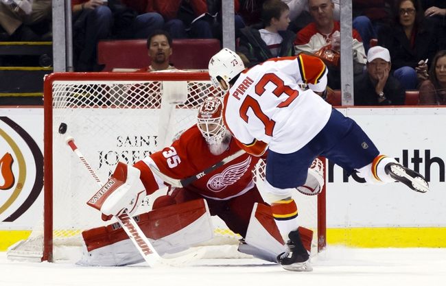 Panthers vs. Red Wings - 1/27/15 NHL Pick, Odds, and Prediction