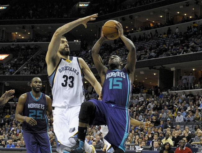 Grizzlies vs. Hornets - 12/11/15 NBA Pick, Odds, and Prediction