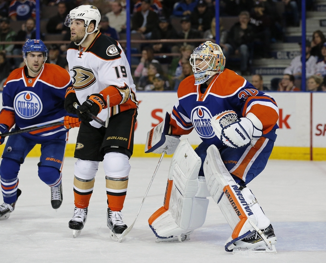 Edmonton Oilers vs. Anaheim Ducks - 2/21/15 NHL Pick, Odds, and Prediction