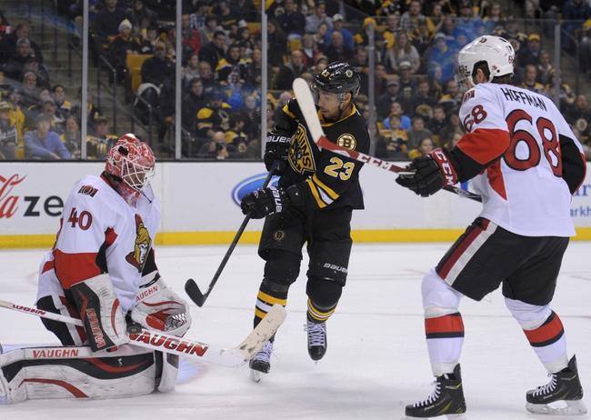 Bruins vs. Senators - 1/3/15 NHL Pick, Odds, and Prediction