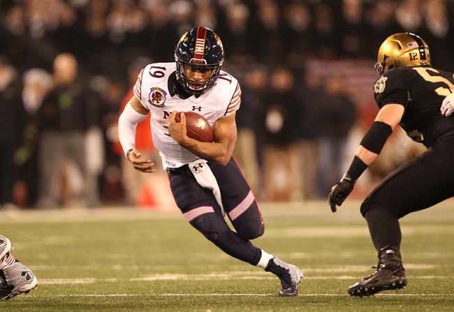 Poinsettia Bowl: Navy vs. San Diego Staten - 12/23/14 College Football Pick, Odds, and Prediction