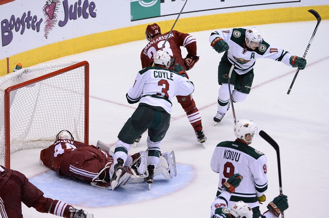 Wild vs. Coyotes - 1/17/15 NHL Pick, Odds, and Prediction