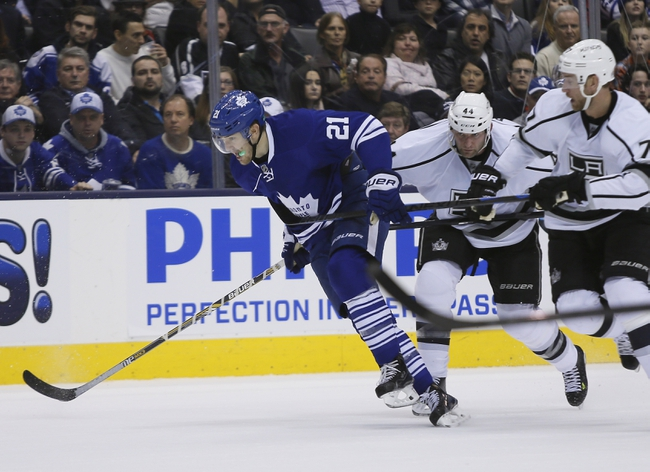 Kings vs. Maple Leafs - 1/12/15 NHL Pick, Odds, and Prediction