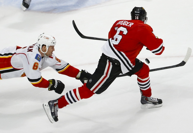 Chicago Blackhawks vs. Calgary Flames - 11/15/15 NHL Pick, Odds, and Prediction