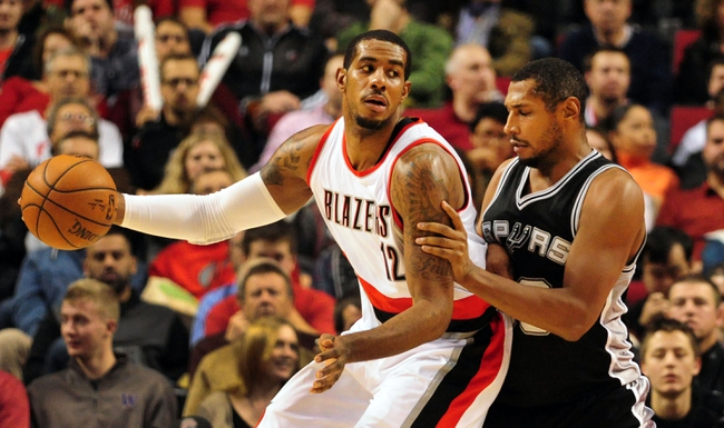 Spurs vs. Trail Blazers - 12/19/14 NBA Pick, Odds, and Prediction