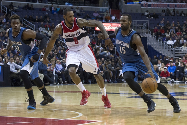 Timberwolves vs. Wizards - 2/25/15 NBA Pick, Odds, and Prediction