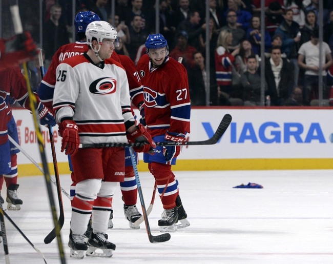 Hurricanes vs. Canadiens - 12/29/14 NHL Pick, Odds, and Prediction