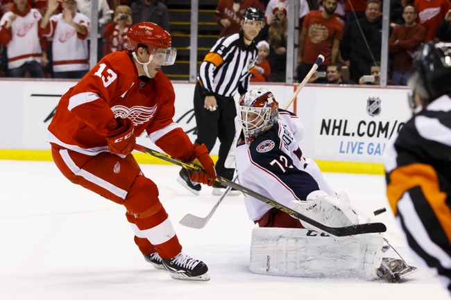 Red Wings vs. Blue Jackets - 3/12/15 NHL Pick, Odds, and Prediction