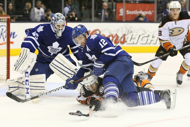 Anaheim Ducks vs. Toronto Maple Leafs - 1/14/15 NHL Pick, Odds, and Prediction