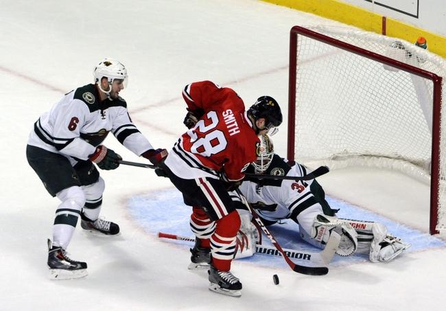 Wild vs. Blackhawks - 1/8/15 NHL Pick, Odds, and Prediction