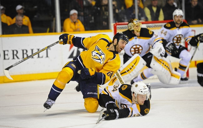 Bruins vs. Predators - 12/23/14 NHL Pick, Odds, and Prediction
