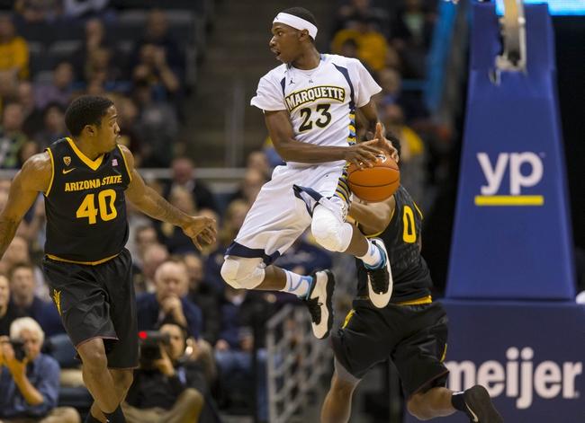 Marquette vs. North Dakota - 12/22/14 College Basketball Pick, Odds, and Prediction