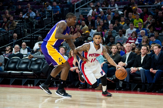 Lakers vs. Pistons - 3/10/15 NBA Pick, Odds, and Prediction