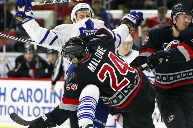 Maple Leafs vs. Hurricanes - 1/19/15 NHL Pick, Odds, and Prediction