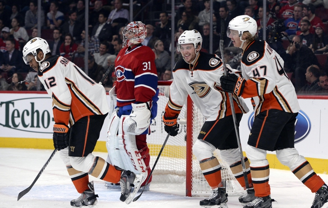 Anaheim Ducks vs. Montreal Canadiens - 3/4/15 NHL Pick, Odds, and Prediction