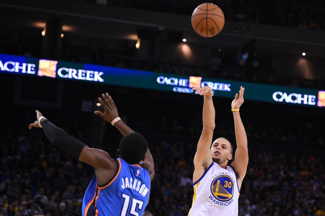 Golden State Warriors vs. Oklahoma City Thunder - 1/5/15 NBA Pick, Odds, and Prediction