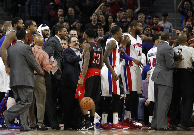 Raptors vs. Pistons - 1/12/15 NBA Pick, Odds, and Prediction