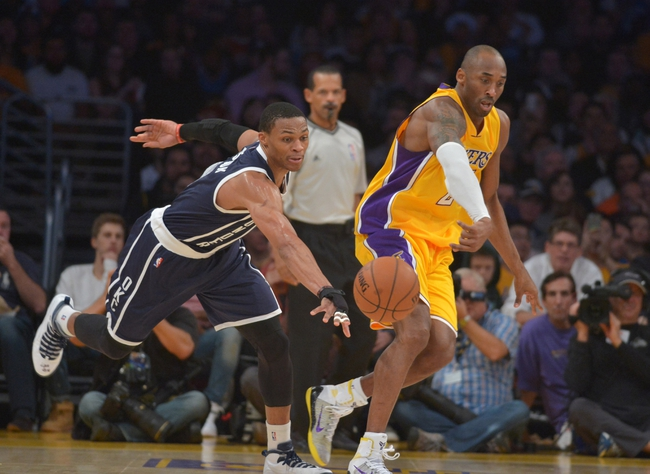 Lakers vs. Thunder - 3/1/15 NBA Pick, Odds, and Prediction
