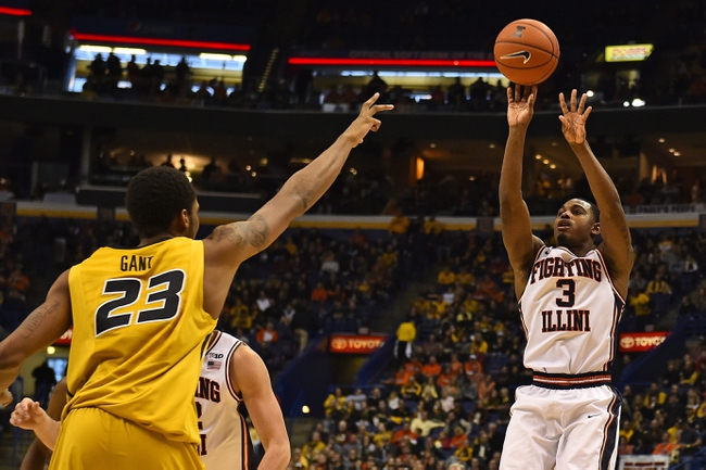 Illini beat Mizzou to claim Braggin' Rights — COLLEGE MEN'S BASKETBALL