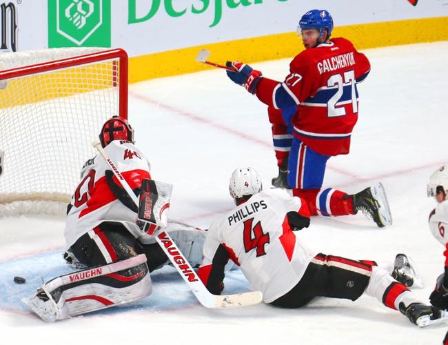 Senators vs. Canadiens - 1/15/15 NHL Pick, Odds, and Prediction