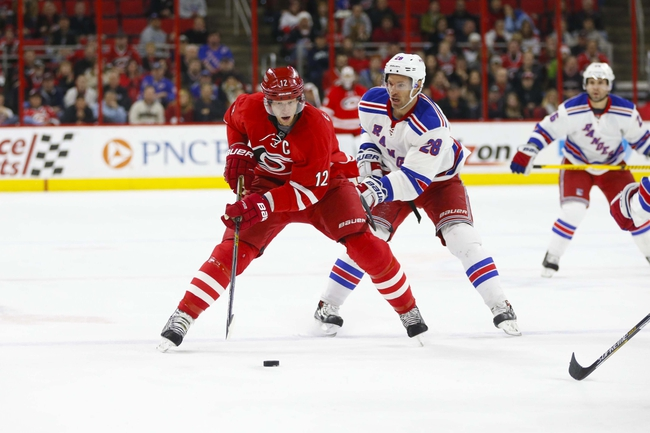 Rangers vs. Hurricanes - 12/21/14 NHL Pick, Odds, and Prediction